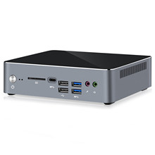 Chatreey mini pc KC10 intel 10th core i5 10210u i7 10510u windows 10 pro DDR4 desktop gaming computer Nvme SSD with wifi 6
