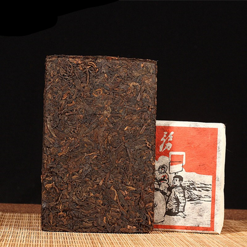 250g Chinese Yunnan Old Ripe China Tea Health Care Pu'er Tea Brick For Weight Lose Tea
