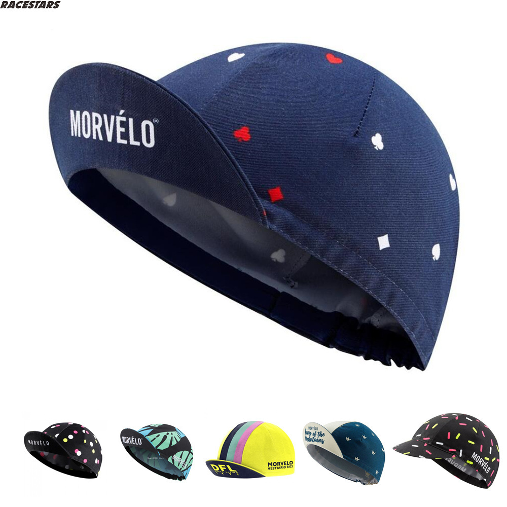 Pro Team Cycling Caps Lightweight Breathable Polyester Road Bike Headwear Gorra Ciclismo Outdoor Bicycles Cycle Cap Men/women