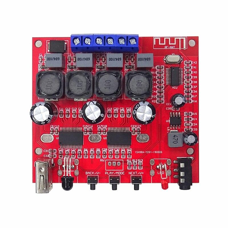 Bluetooth 5,0 TPA3118 усилитель 60 Вт + 60 Вт стерео цифровой усилитель плата с функцией TWS