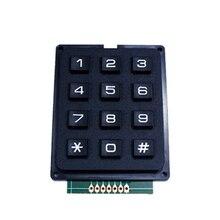 Однокристальный Клавиатура Ключ Матрица клавиатура 3*4/3X4 клавиатура 12 клавишная клавиатура клавиатурный модуль