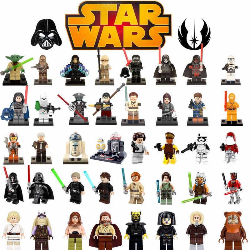 Single Voor Legoing Luke Skywalker Star Plan Starwars Sandcrawler Baze Malbus Darth Malgus Bouwstenen Kid Speelgoed Legoings 75059
