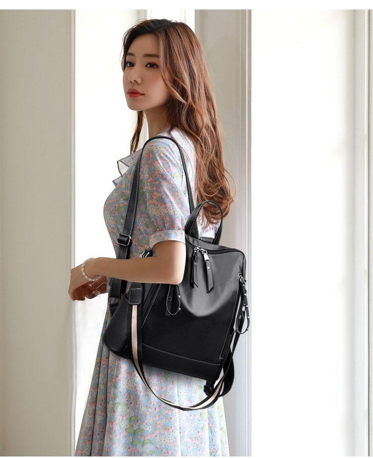 Ba lô Túi xách nữ da mềm, thời trang cao cấp cho sinh viên học sinh - STX211