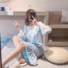 «harajuku» дома платье с v образным вырезом; Сезон весна осень;