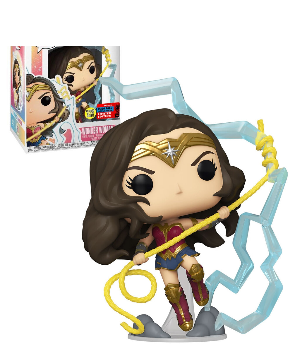 NEWest 2020 WW84 Superhero WONDER WOMAN #361 Model Toys Luminous Edition for Children Gift