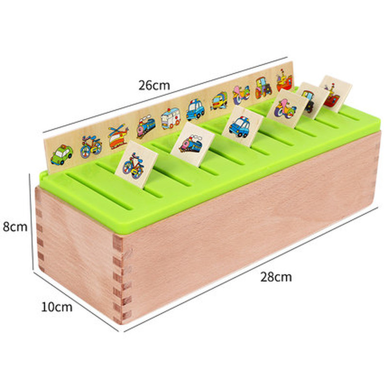 Mathematical Knowledge Classification Early Learn Matching Kids Montessori Early Educational Learn Toy Wooden Cognitive Matching 4