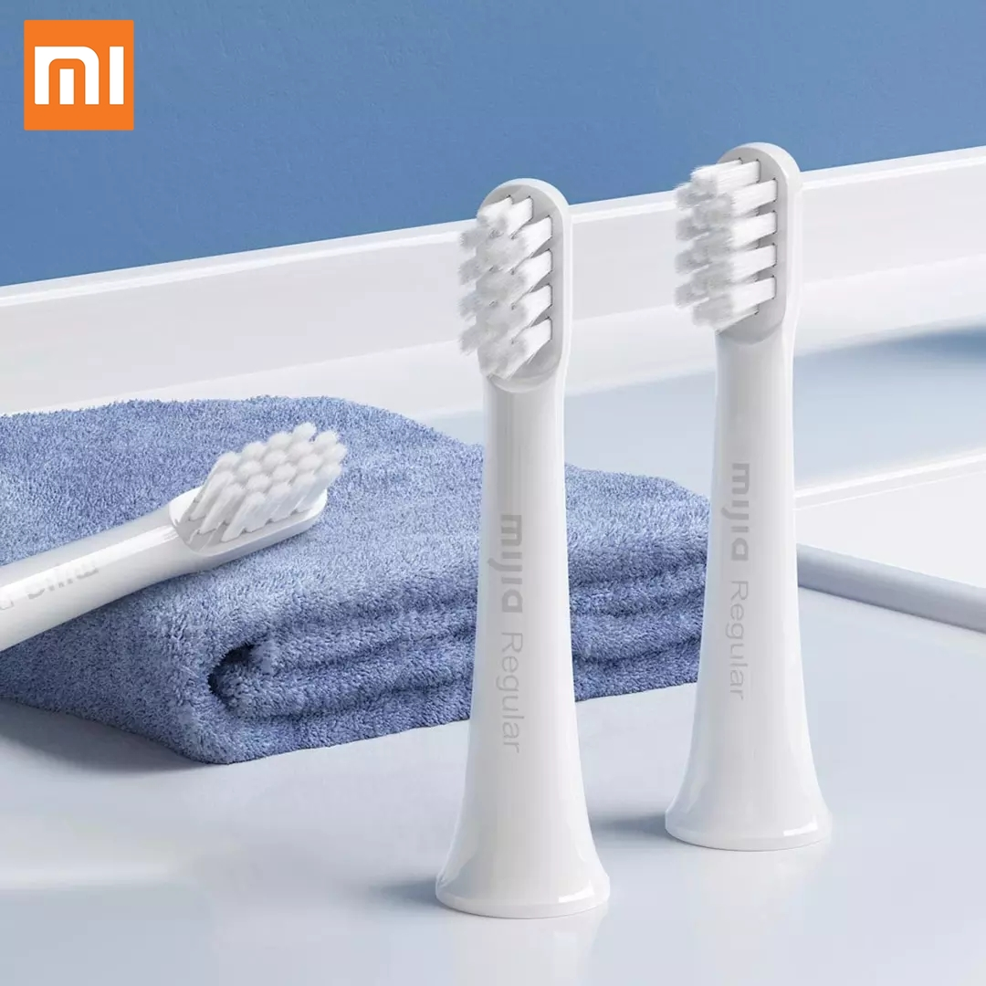 Original Xiaomi T100 Toothbrush Replacement Teeth Brush Heads Mijia T100 Electric Oral Deep Cleaning Sonicare Toothbrush Heads
