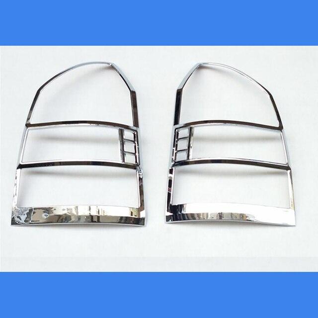 משלוח חינם ABS Chrome אחורי פנס מנורת כיסוי Trim 2 יח\סט עבור 2005 כדי 2012 עבור יונדאי טוסון