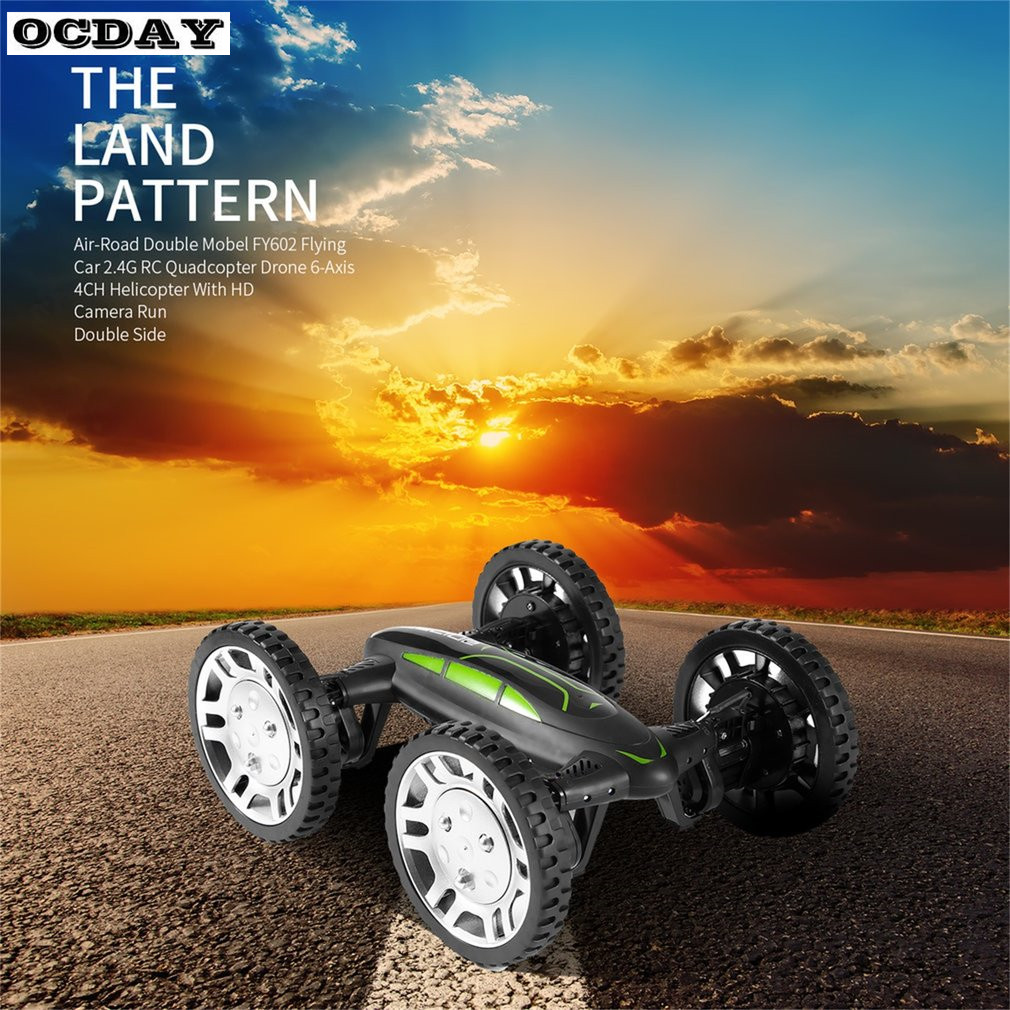 OCDAY Multifunction Mini RC Drone Kit With HD Camera 4