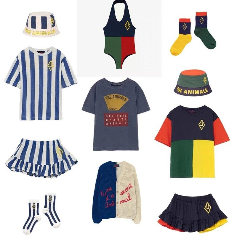 Kids T Shirts 2021 New Spring Summer TAO Brand Boys Girls Cute Print Short Sleeve T Shirts Baby Child Cotton Tops Tees Clothes 1
