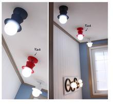 Современный декоративный потолочный светильник с одной головкой