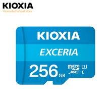 (Anteriormente toshiba) kioxia 256gb/128g/64g microsd exceria cartão de memória flash u1 r100 c10 hd alta velocidade de leitura 100 mb/s cartão tf