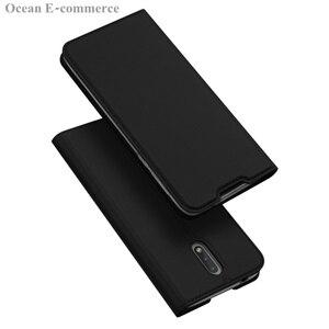 Image 4 - DUX DUCIS peau tactile étui en cuir pour Nokia 2.3 luxe Ultra mince fente pour carte support portefeuille à rabat housse pour Nokia 2.3 coque