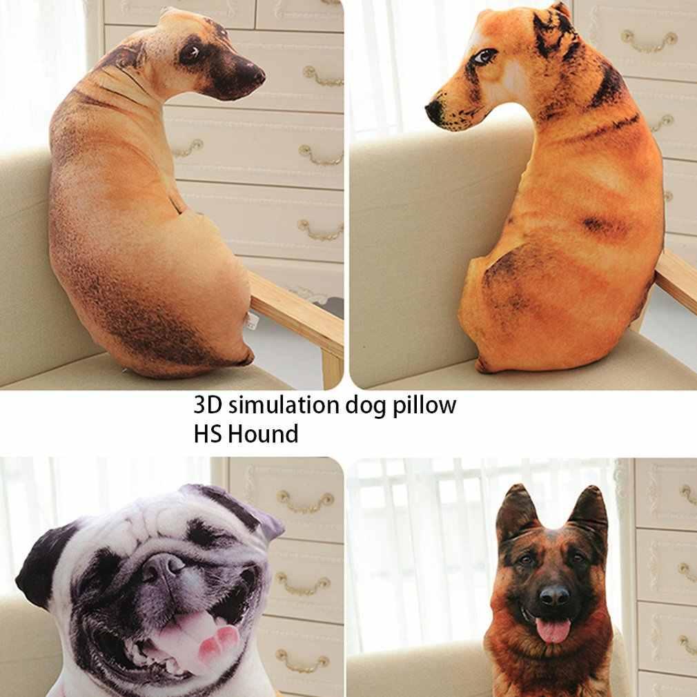 3D シミュレーション犬枕 Shapi ダルメシアンハスキーぬいぐるみクッションオフィス昼寝家庭実用洗える枕