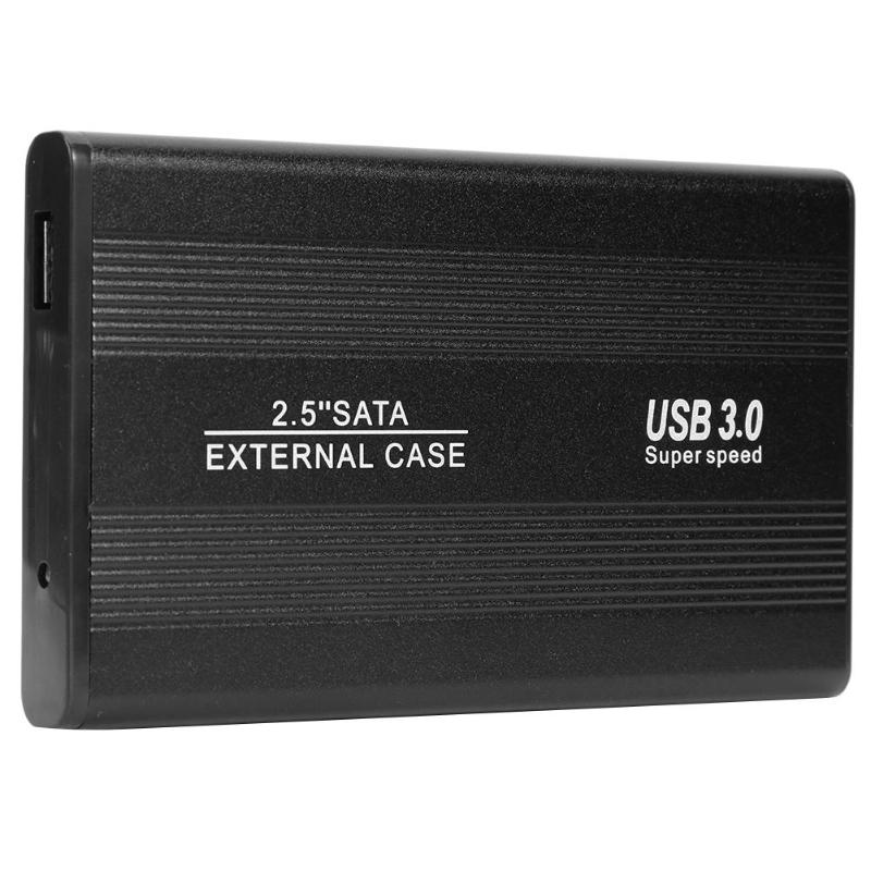 2.5 Inch USB 3.0 To SATA External Enclosure Case Portable High Speed 6-Gbps SSD Hard Drive Enclosure Case Support 3TB