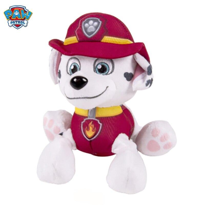 Paw patrol puppy game dog sound wave bent plush and stuffed animal toy patrulla canina children Christmas birthday gift