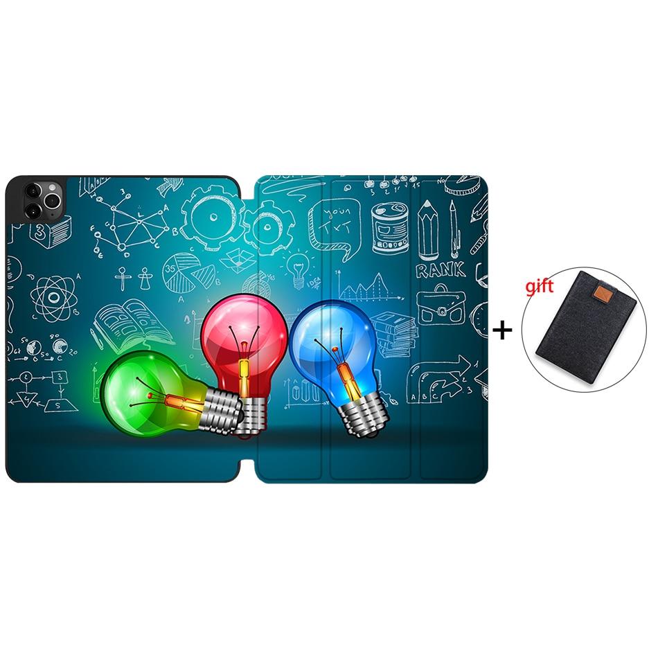 IPTPU13 Silver MTT Case For iPad 4th Gen Pro 12 9 2020 Release A2229 A2233 Soft TPU Back