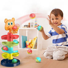 Новый питьевой лоток прокатного шар ворс башня головоломки детские