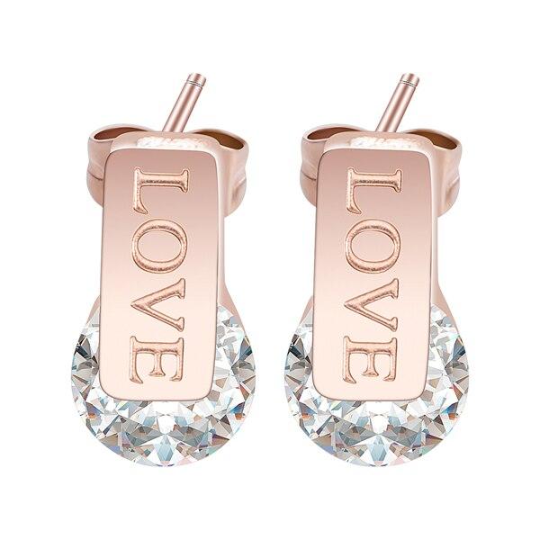 rose love earring