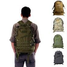 40l 3d esporte ao ar livre tático mochila escalada trekking militar mochila de viagem acampamento caminhadas mochilas