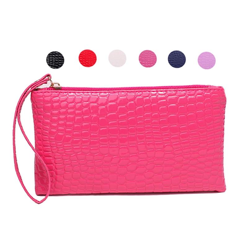 Mini Cosmetic Bag Ladies Makeup Bags Handbag Small Mobile Phone Bag Travel Storage Bag Waterproof Zipper Toiletry Pouh Coin Bag