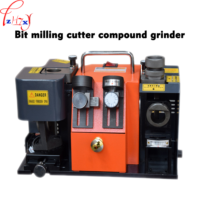 220V Drill And End Mill Grinder GD-313A Multi-function Composite Grinding Machine Dual-purpose Grinder Machine 1PC