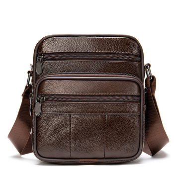 2020 Men Shoulder Bag New Genuine Leather Fashion High Quality Men's Crossbody Bags Male Solid Multifunctional Messenger Bags new fashion genuine leather messenger bags for male crossbody bags designer high quality men shoulder bag casual zipper office