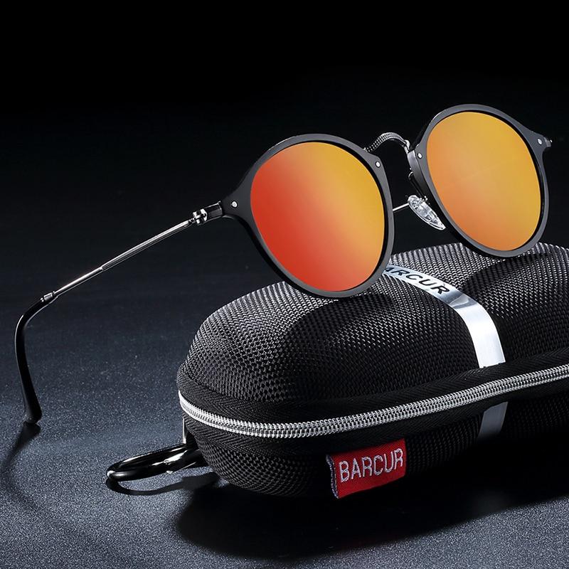 H2db7600bb2ff49e49c1f3b04ec56dd4ca BARCUR Aluminum Vintage Sunglasses for Men Round Sunglasses Men Retro Glasses Male Famle Sun glasses retro oculos masculino