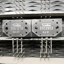 2pairs عالية الطاقة صمام ثنائي ثلاثي المسار سانكين 2SA1216 2SC2922 MT 200 الصوت مكبر كهربائي أنبوب جديد HIFI مكبر للصوت SK A1216 C2922 P
