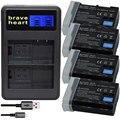 Аккумулятор bateria EN EL15 ENEL15 EN-EL15 для Nikon D500 D600 D610 D750 D7000 D7100 D7200 D800 D800E  D810  D810A и 1 v1