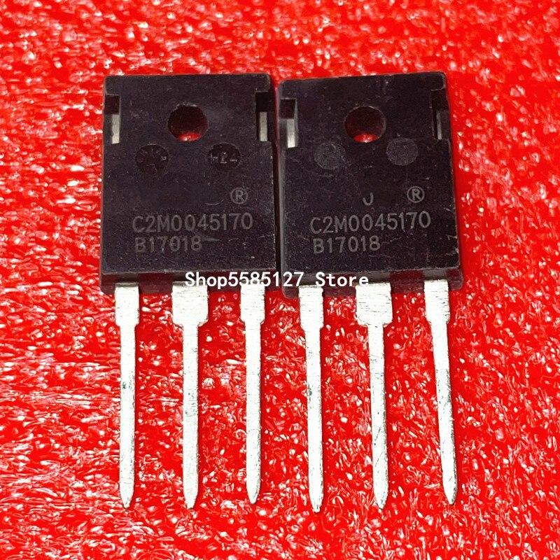 1 шт. C2M0045170 C2M0045170D TO-247 1700V 72A 100% новый и оригинальный