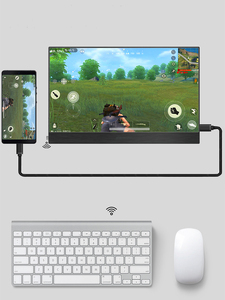 Image 4 - 4K Touch 15.6 Portable Monitor,13.3 Inch 3840 x2160 Ultra Slim IPS LCD Display With HDMI Type C for Computer Laptop PS4