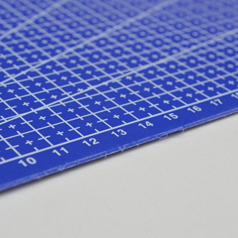 New 1Pc A3 Cutting Plate Pvc Rectangle Grid Lines Cutting Mat Plastic Diy Tools 45cm * 30cm School Office Supplies For Kids Gift 4