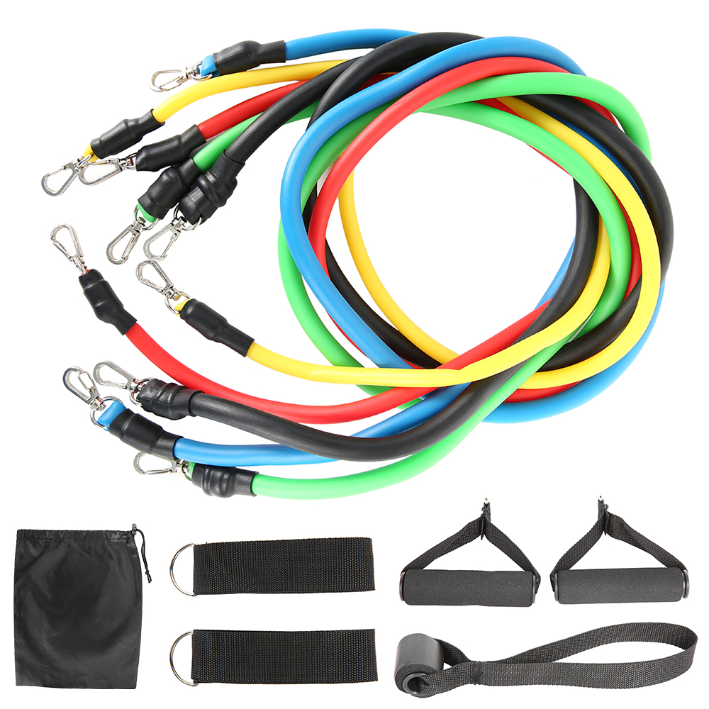 11-13pcs Fitness Resistance Bands 15