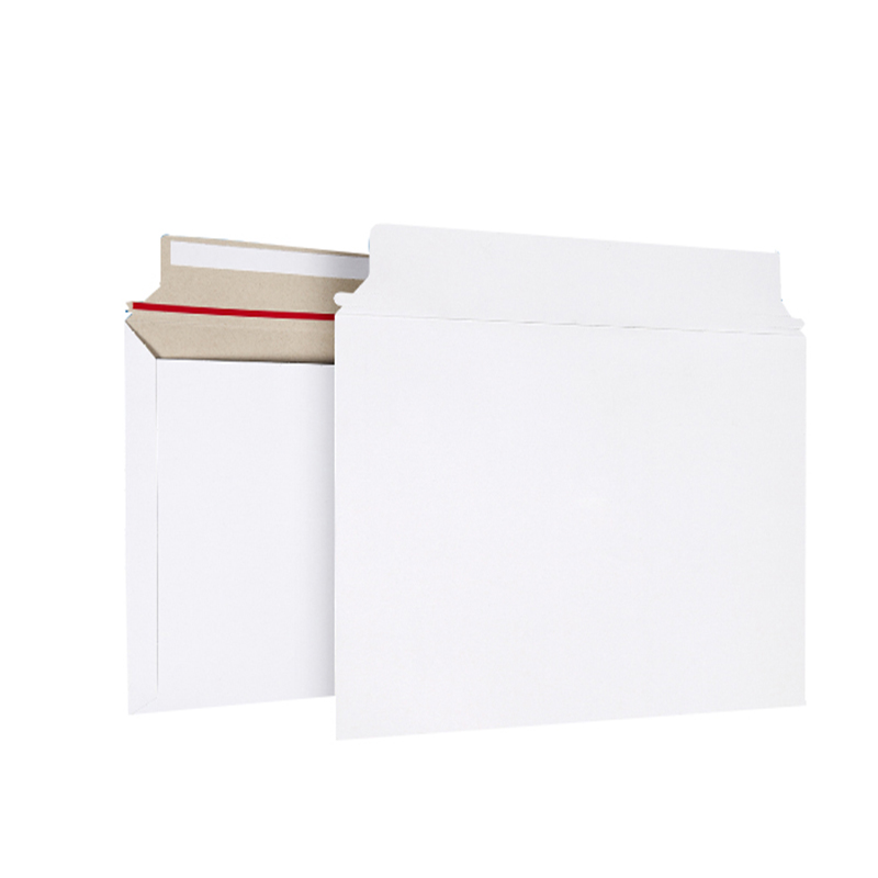 10PCS 250x160mm Mailjackets Rigid Mailers Self-Seal Stay Flat Photo Packaging Paperboard Envelopes ,Document Cardboard Mailers