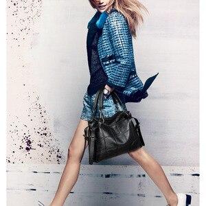 Image 3 - Yonder Brand fashion women handbags female Crossbody shoulder bags for women 2020 luxury handbag leather gray hand bags ladies