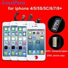 Pantalla LCD de calidad AAA para iPhone 6, 6S, 5S, 6S Plus, montaje de digitalizador con Pantalla táctil