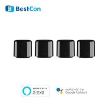 Broadlink Control remoto inteligente RM Mini 3 BestCon RM4C min 4G para Alexa, Google Home, IFTTT, aplicación inalámbrica, controlador de voz