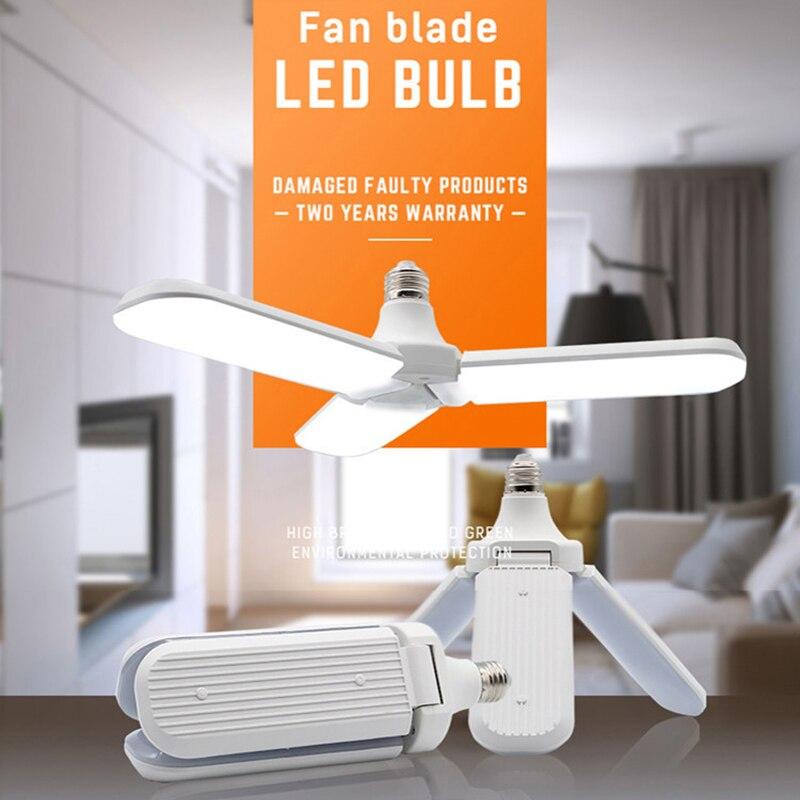 36W 45W LED Garage Light E27 Folding Workshop Ceiling Lights Deformable Lamp Industrieel Lighting AC85-265V Home Ceiling Lights