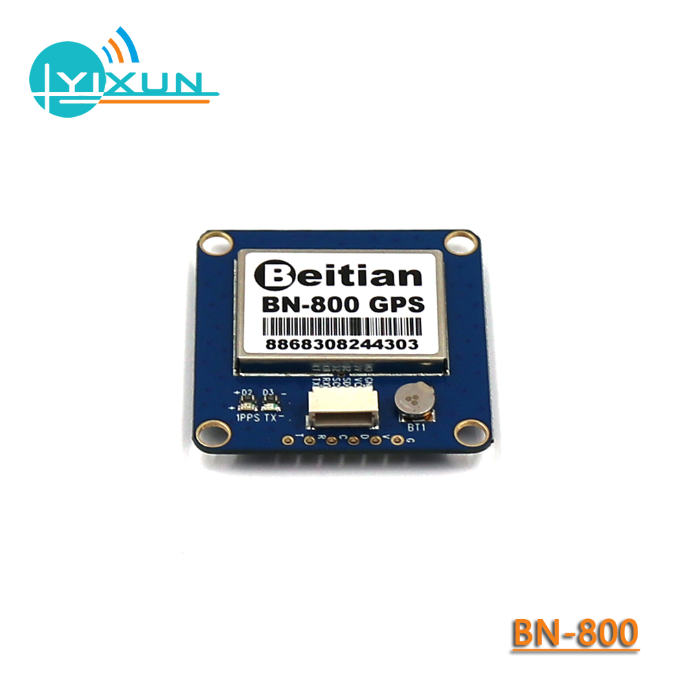 BEITIAN BN-800, GNSS Module, GPS GLONASS Dual Flight Control, Dual-mode GPS Module, Compass HMC5883L AMP2.6/PIX4/PIXHAWK