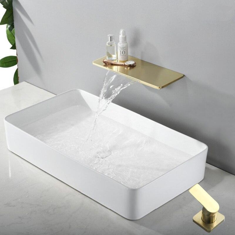 Brushed Gold Deck