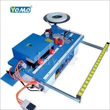 Máquina de bandas de borde manual de madera de carpintero YOMO MY70 con corte de recortador de bordes, poda carpintería 45kg