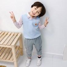Ciepła miękka kamizelka dla dzieci zima pluszowa dla dzieci płaszcz bez rękawów zielony niebieski kolor chłopcy odzież bawełniana dziecięca odzież wierzchnia odzież dla niemowląt tanie tanio changbvss W wieku 0-6m 7-12m 13-24m 25-36m CN (pochodzenie) Unisex COTTON Poliester Mikrofibra O-neck Kurtki płaszcze