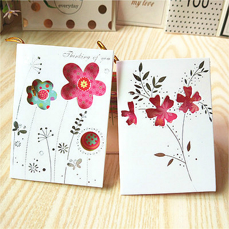 Us 0 17 21 Off Creative Hollow Carve Message Card Diy Creative Greeting Cards Postcards Wedding Invitations New Year Party Invitation Cards On