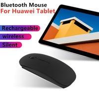 화웨이 MediaPad M5 lite 8.0 T5 T3 Matepad 태블릿 용 블루투스 마우스 명예 놀이 패드 2 9.6 용 충전식 무음 무선 마우스