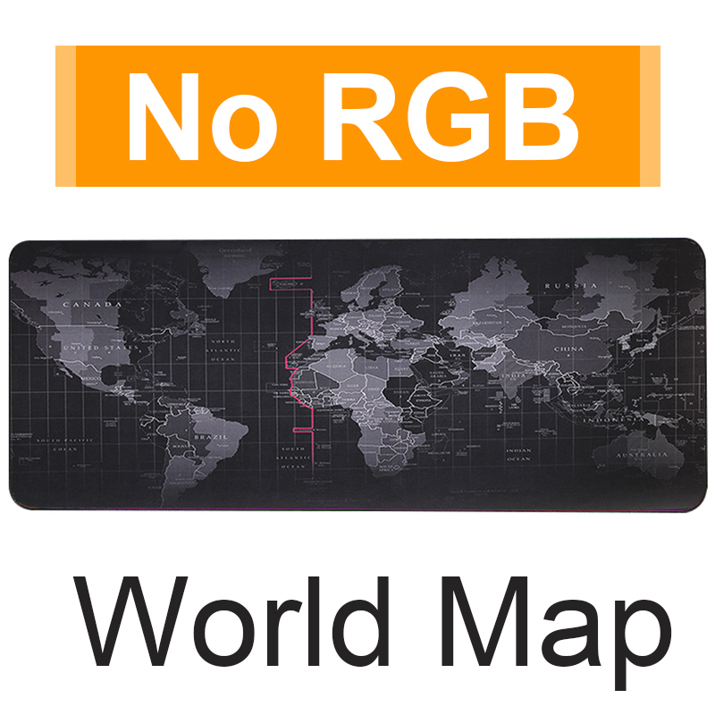 NO RGB World Map