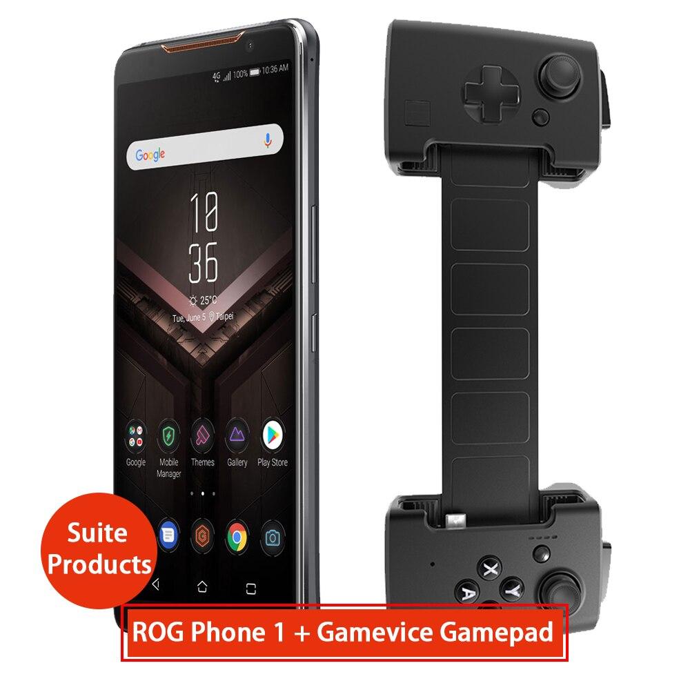 Asus ROG  Phone ZS600KL  +gamevice Gamepad Suite Products 8GB RAM 128 ROM NFC OTA Update Gaming Phone CN Version