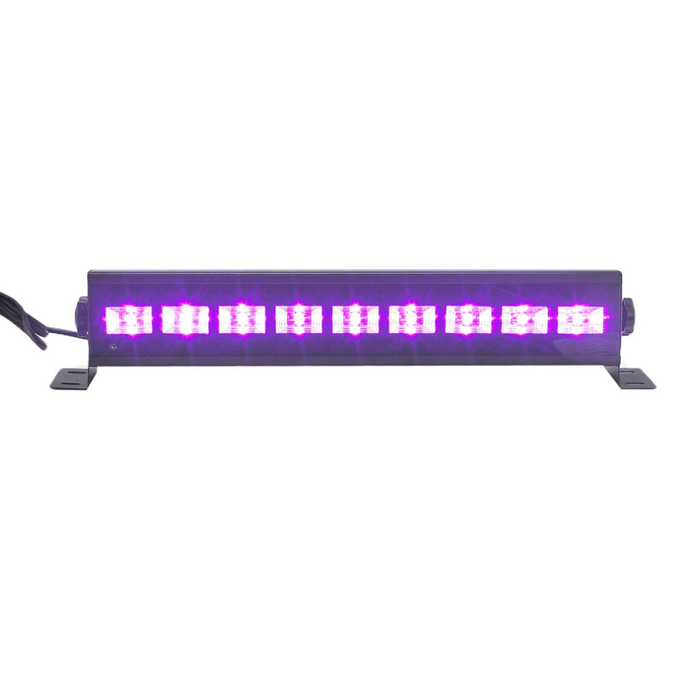 Remote Control UV Purple Long Wall Wash Wall Lamp Voice Control Dance Lamp Special Effects For Wedding Christmas Halloween