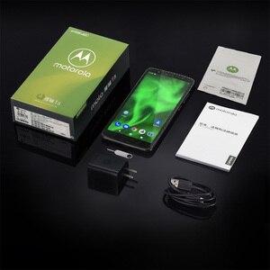 Image 5 - 4 기가 바이트 64 기가 바이트 모토 G6 스마트 폰 2160*1080 5.7 인치 휴대 전화 유리 바디 3000mAh 지원 MicroSD 핸드폰 글로벌 ROM