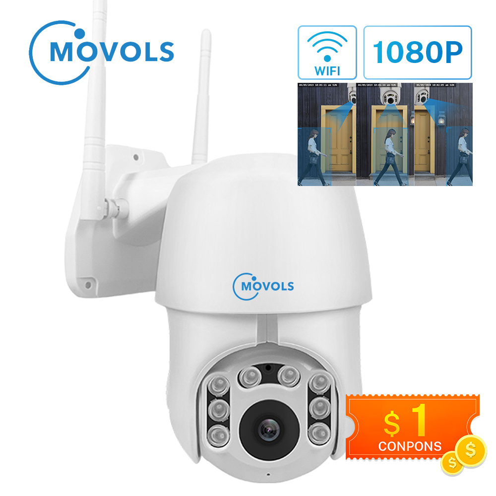 Security Cameras PTZ Surveillance-Camera Auto-Tracking-Ip-Camera Wifi Speed-Dome 4x-Digital-Zoom